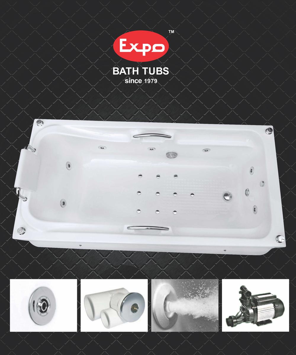 Expo Bath Tubes - Whirlpool System Bath tubs